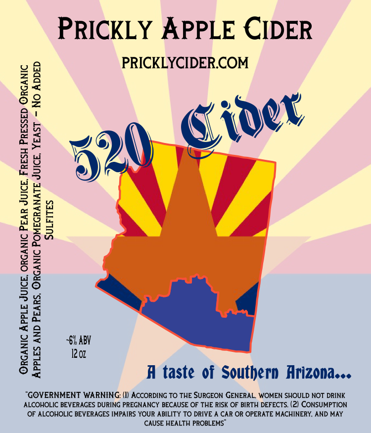 520 Cider By Prickly Apple Cider