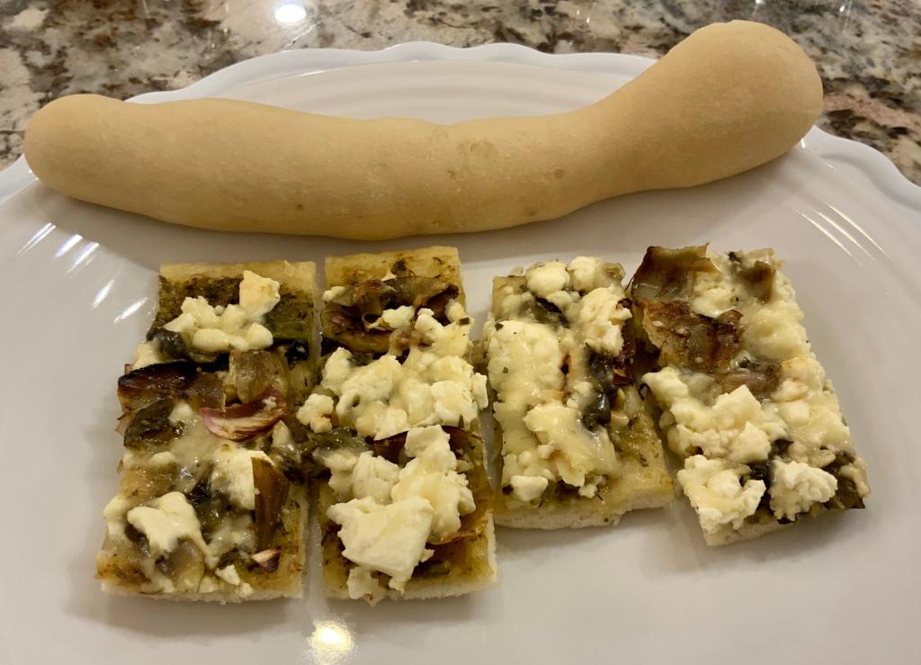 Sourdough Cider Breadstick and Pizza.
