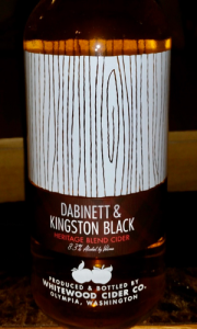 Whitewood Dabinett & Kingston Black Hard Cider