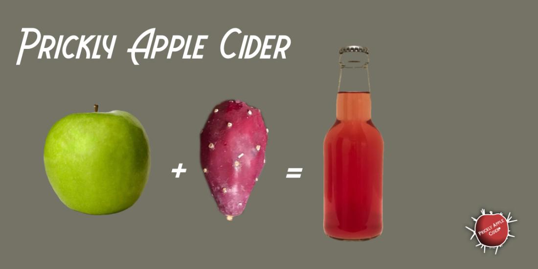 Making Prickly Apple Cider