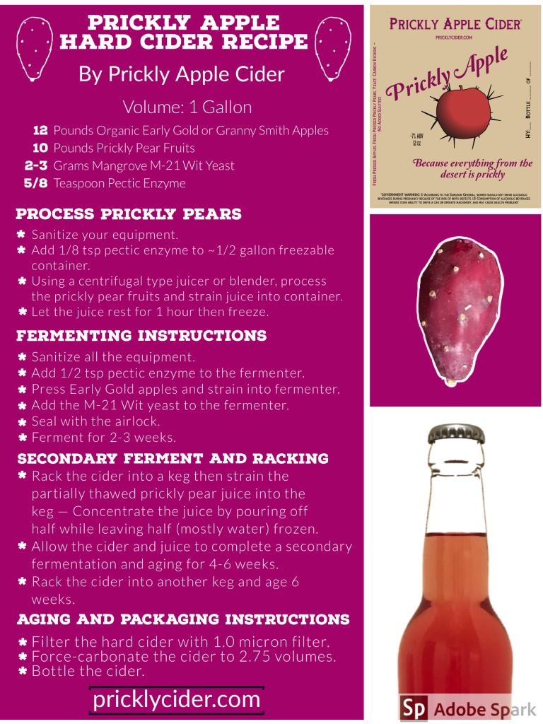 Prickly Apple Hard Cider Recipe