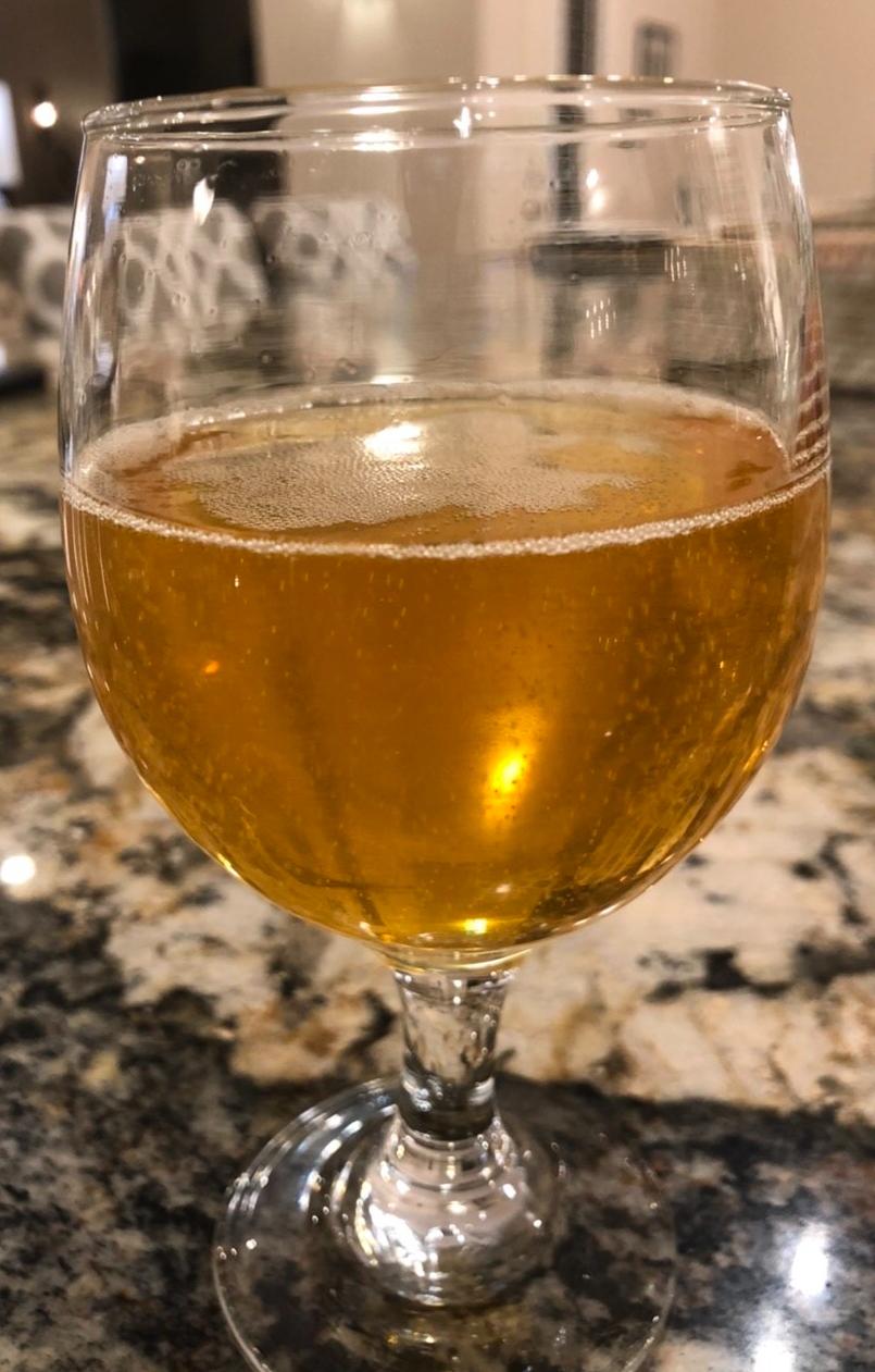 Hard Cider Sample: Mostly Clear