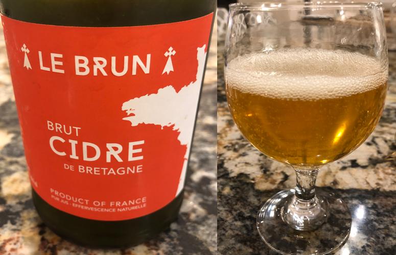 Le Brun Brut Cidre (Hard Cider)