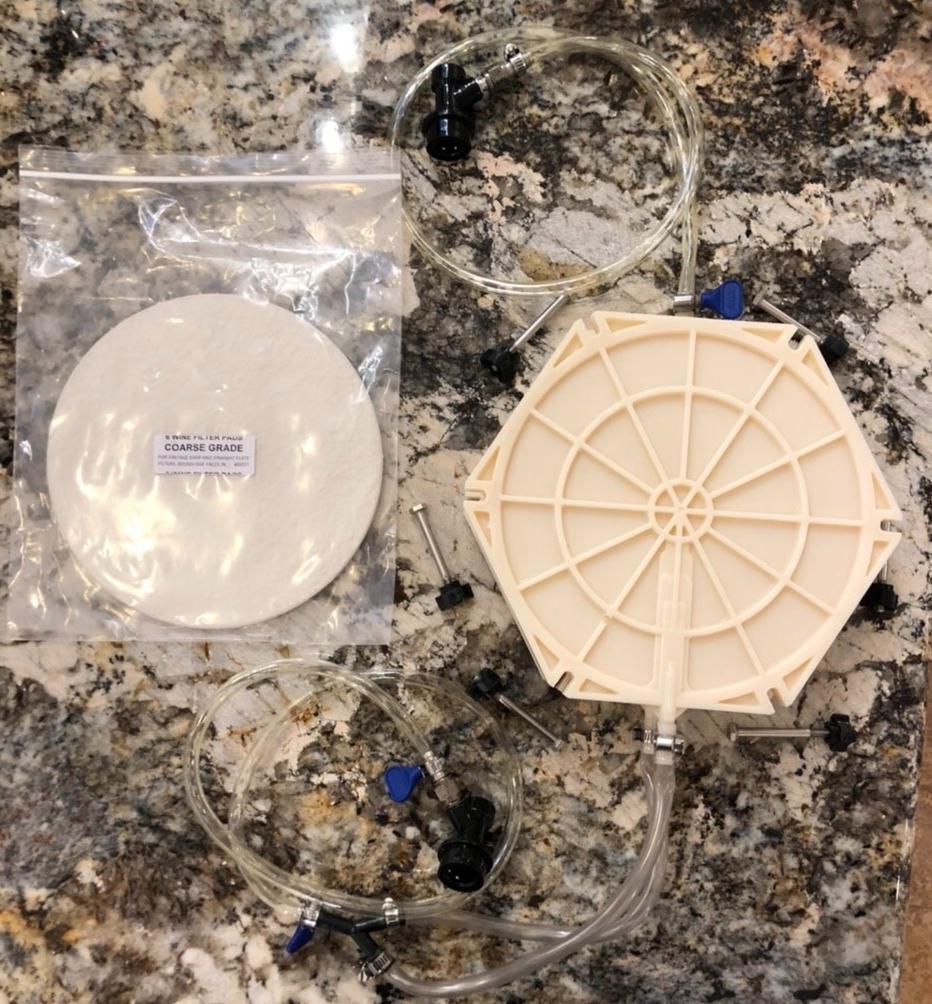 Hard Cider Filter: Pad Filter System