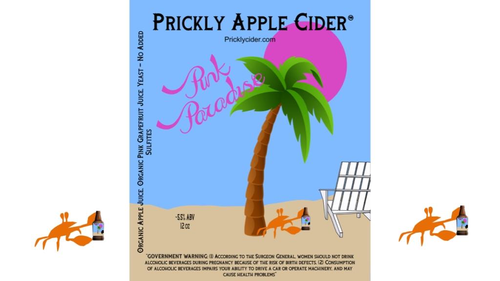 Pink Paradise Hard Cider Recipe
