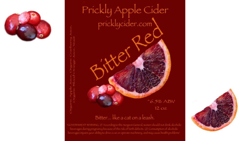 Bitter Red Hard Cider Recipe