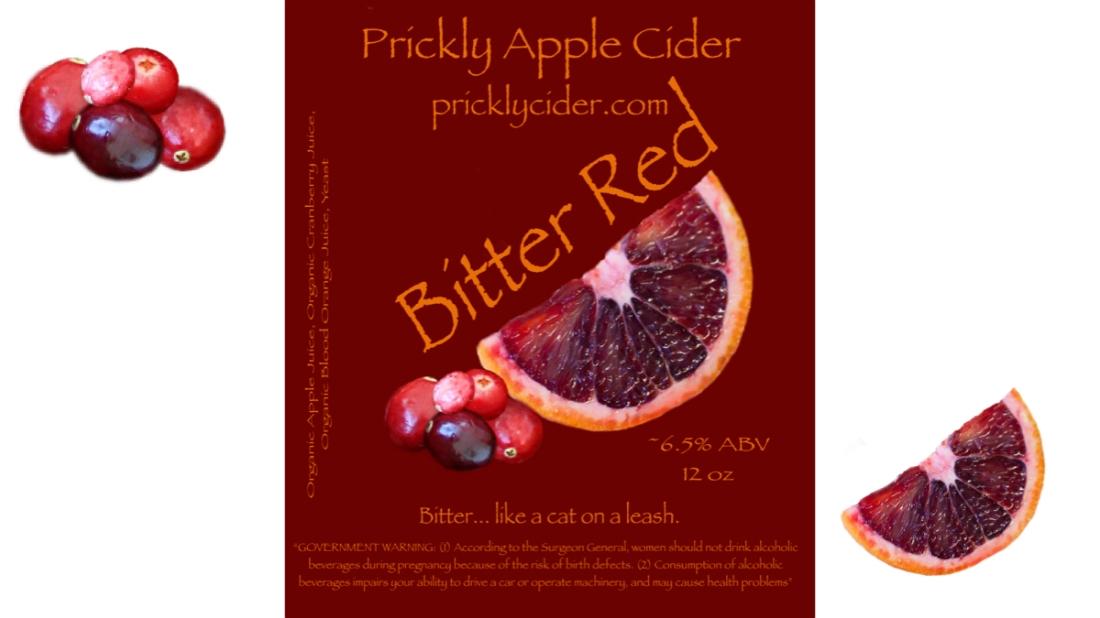 Bitter Red Hard Cider Recipe