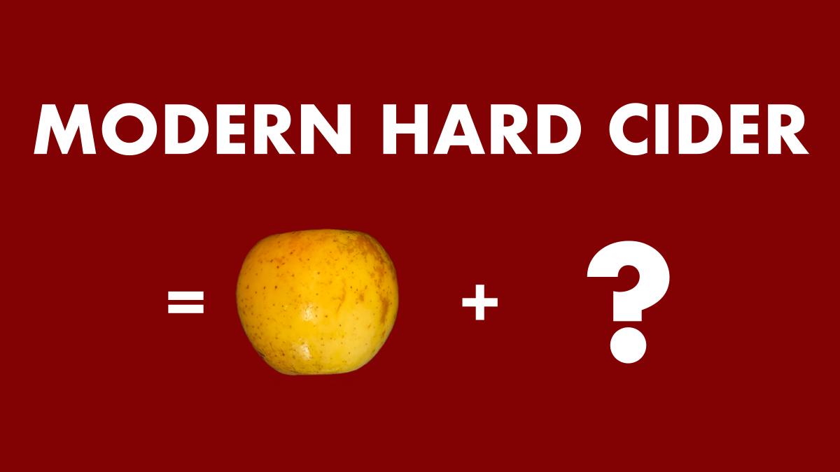 Modern Hard Cider Title