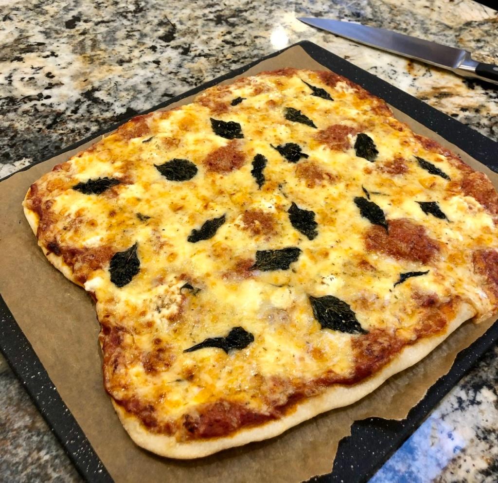 Social Distancing Quattro Fomaggi Pizza