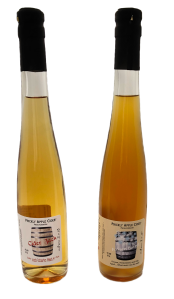 Dessert Hard Ciders: Examples of stopping fermentation.