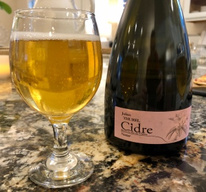 Julien Thurel Cidre Cuvée Nectar-2016: Bubbling and Complex