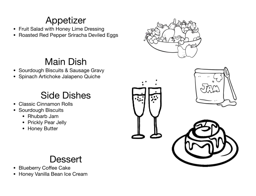 Breakfast Party Food Menu