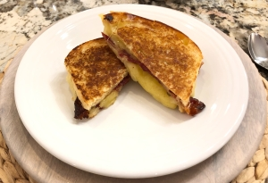 Jalapeño Candied Bacon Grilled Cheese