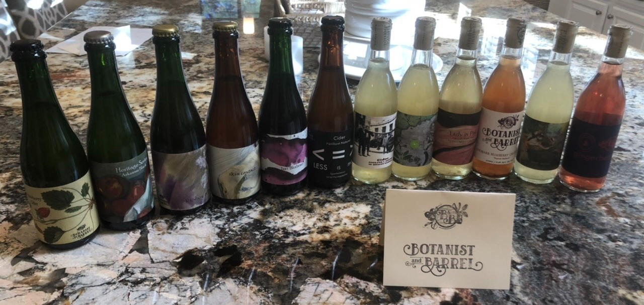 Botanist & Barrel: My Cider Sampler
