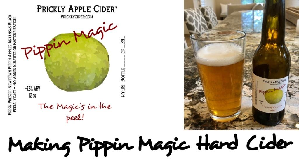 Making Pippin Magic - Hard Cider