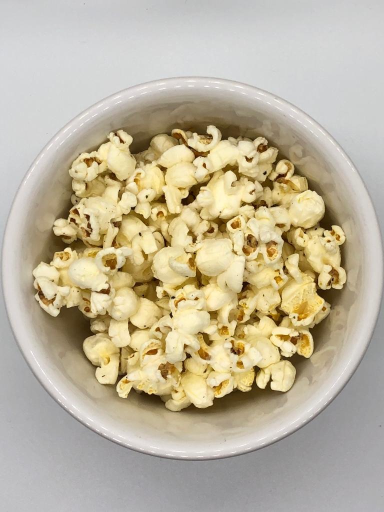 Salt & Pepper Buttered Popcorn