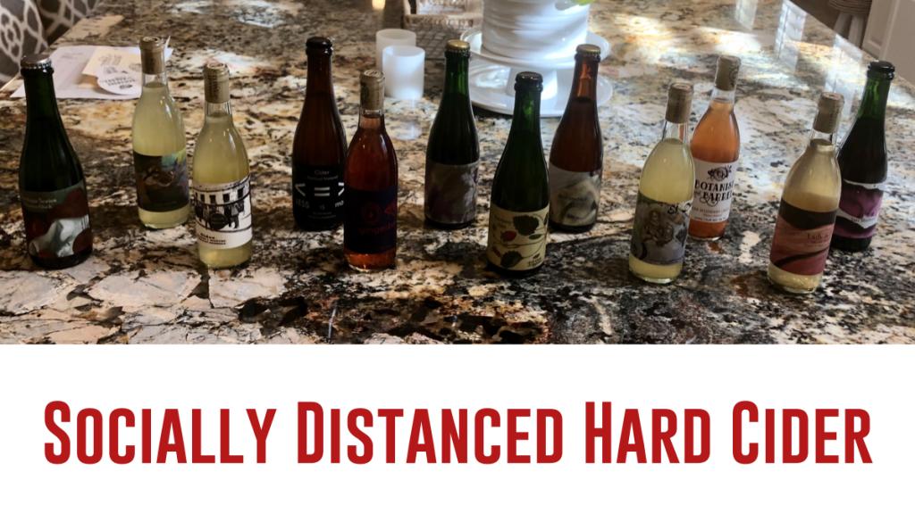 Socially Distanced Hard Cider: Botanist & Bottle