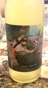 Lemon Lavender Cider