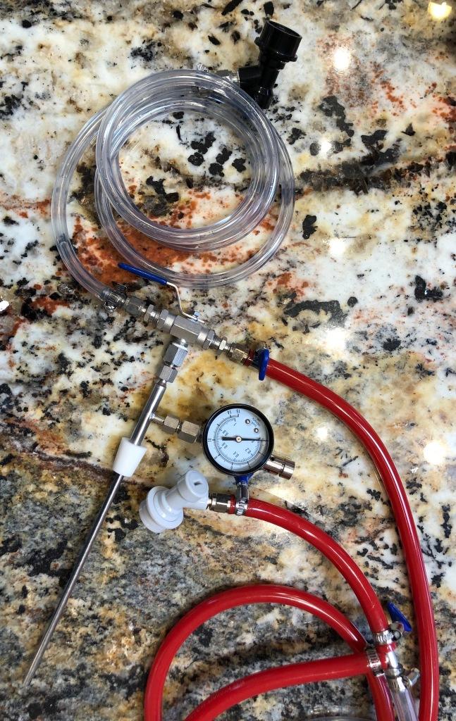 Counter Pressure Bottle Filler system