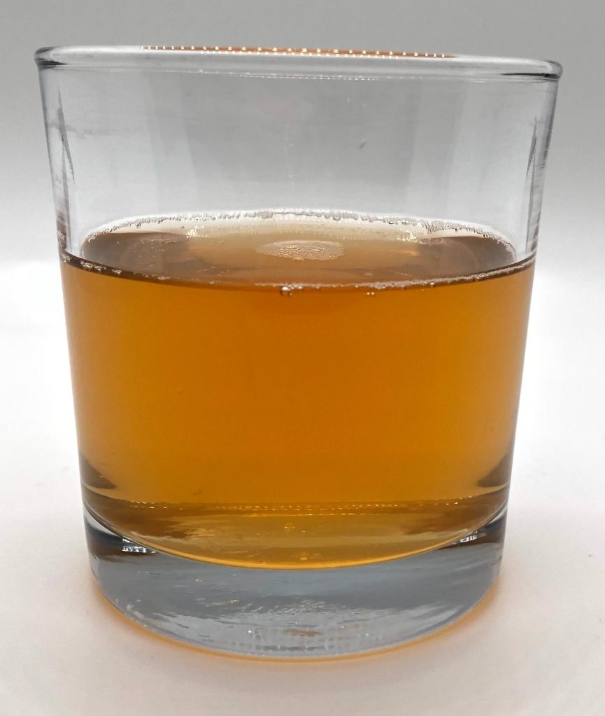 Glass of Garden Cider: A Plum and Ginger Hard Cider