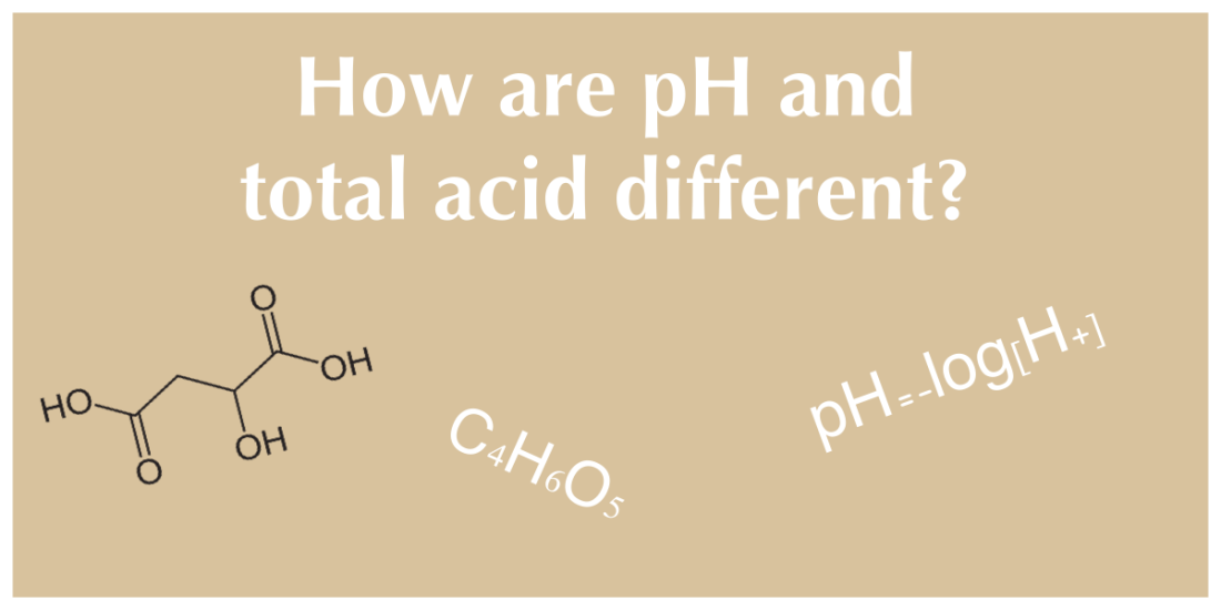 Hard Cider: pH versus Total Acid