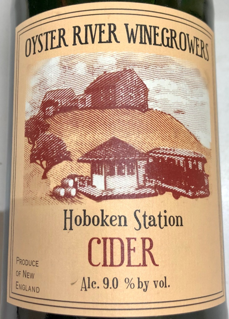 Oyster River Winegrowers: Hoboken Station