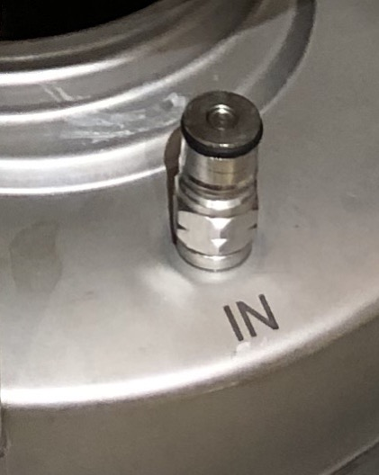 Keg Ball Lock