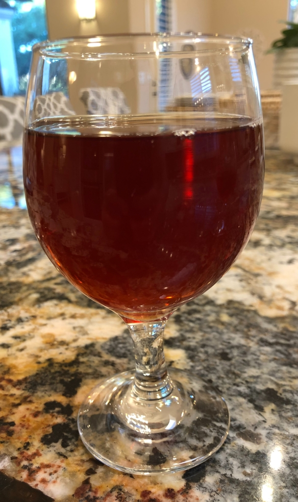 Cranperry Sour: Pears, Cranberry, and Funk