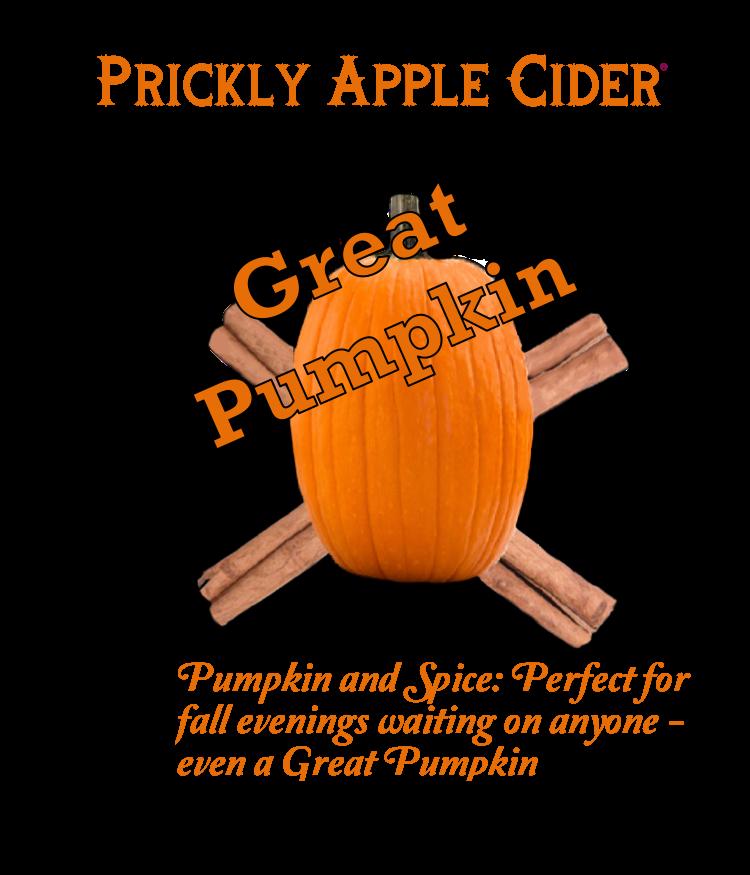 Great Pumpkin Hard Cider