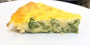Broccoli Cheddar Quiche: Pairs well with Strawberry Blush Hard Cider