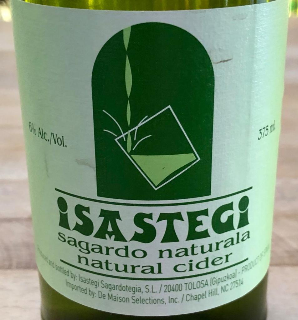 Isastegi: Sagardo Naturala