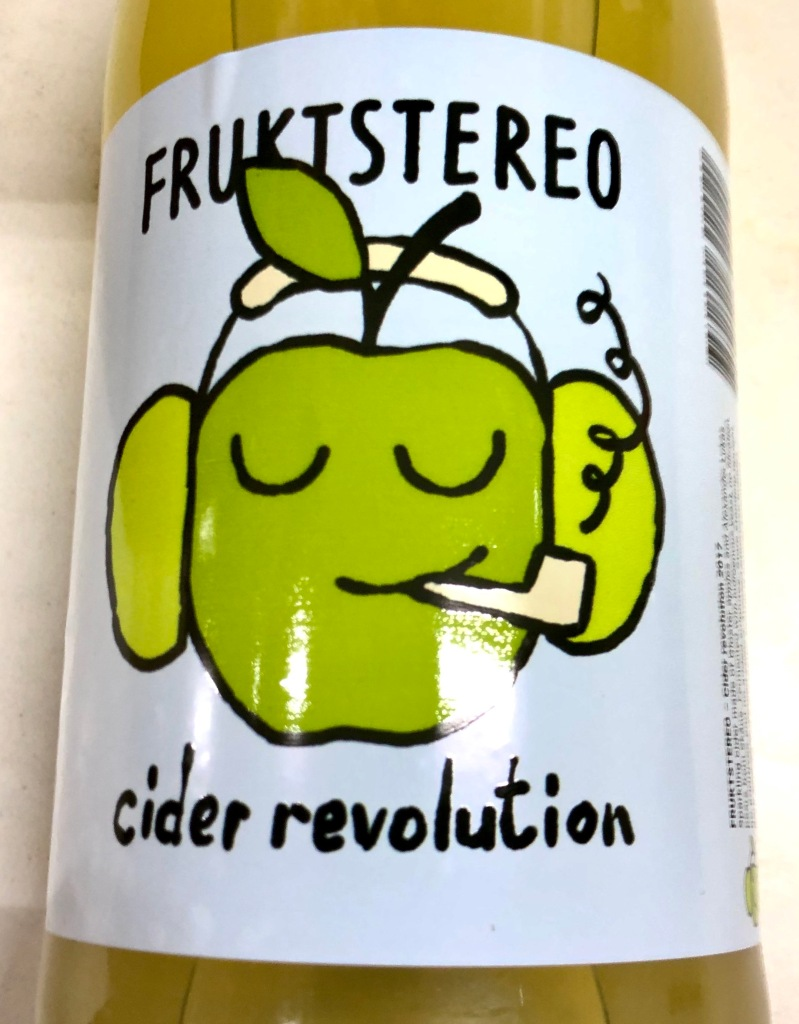 Cider Revolution Hard Cider by Fruktstereo