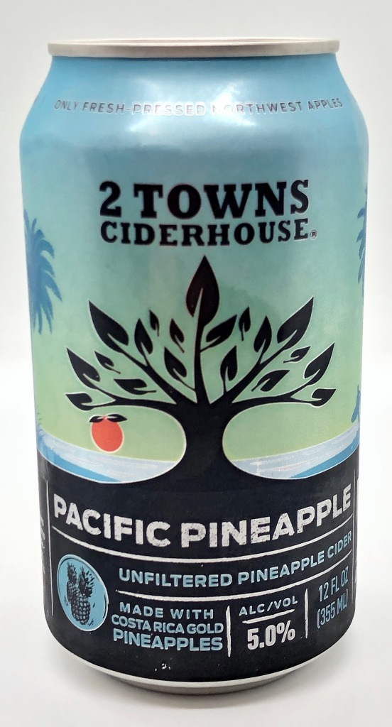Pacific Pineapple Hard Cider by 2 Towns Ciderhouse