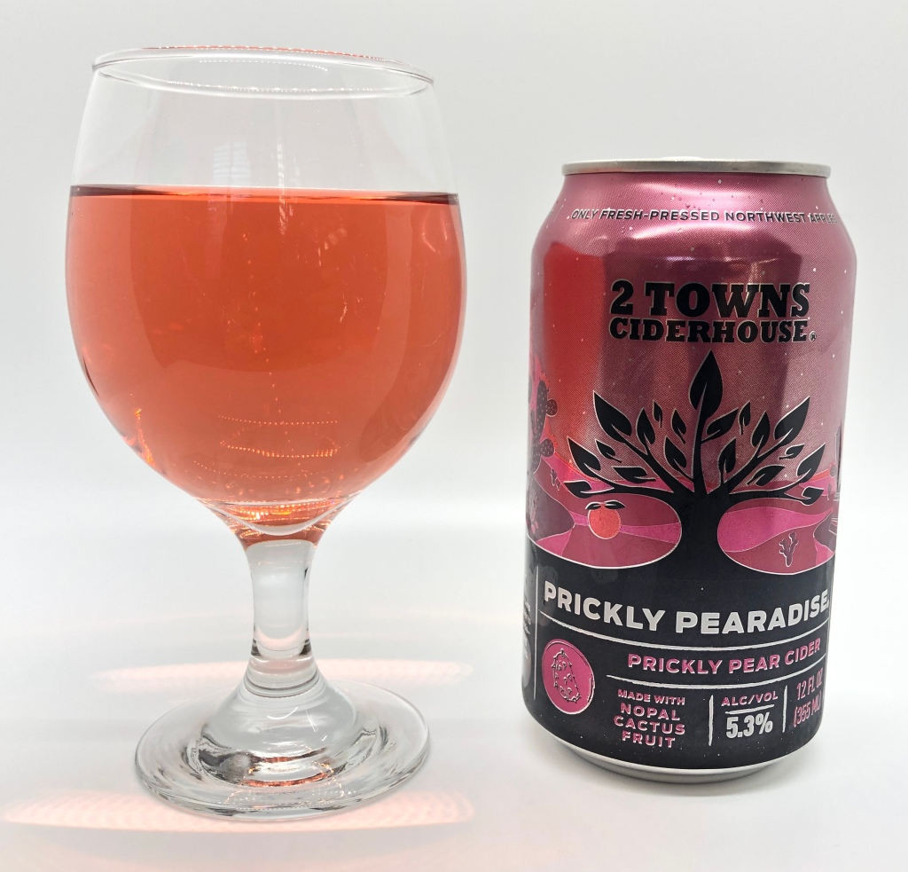 Prickly Pearadise Perry by 2 Towns Ciderhouse