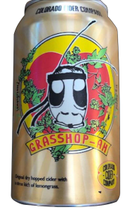 Grasshopper-ah by Colorado Cider Company