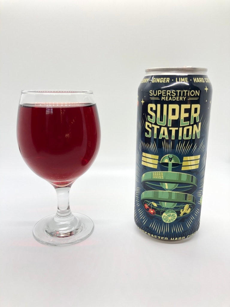 Super Station Hard Cider by Superstition Meadery