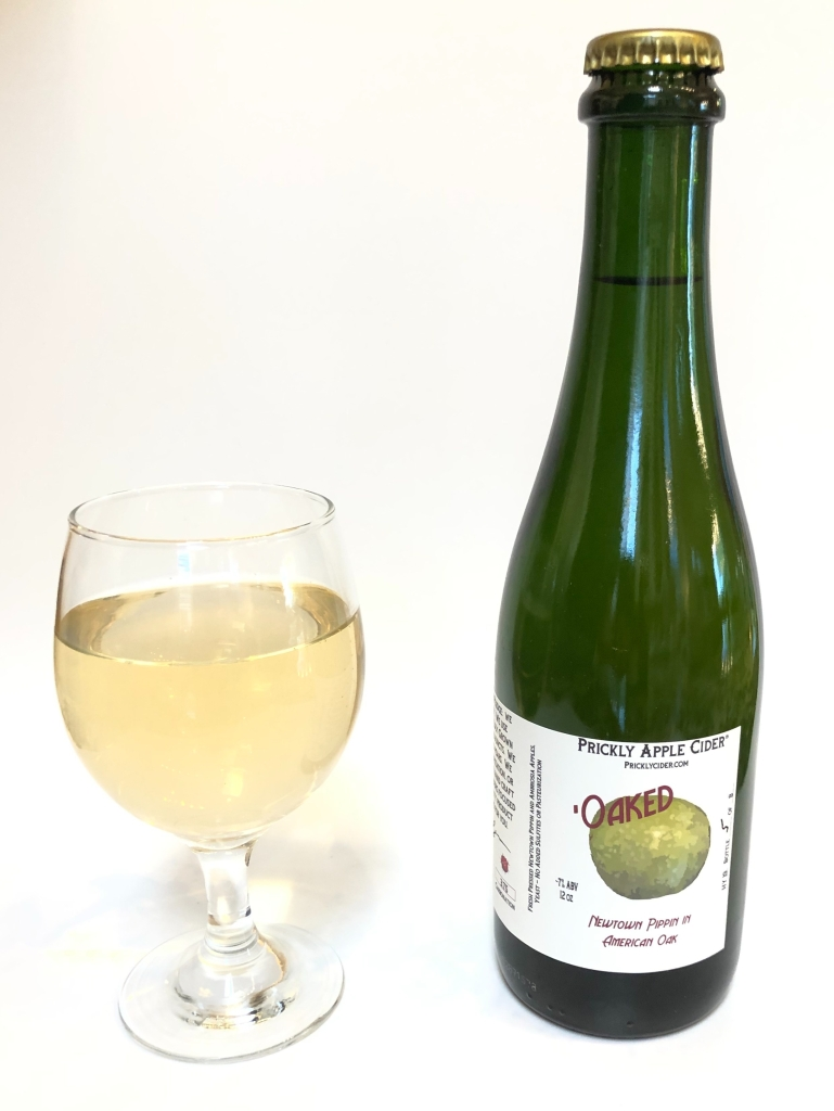 'Oaked Hard Cider: Newtown Pippin & American Oak