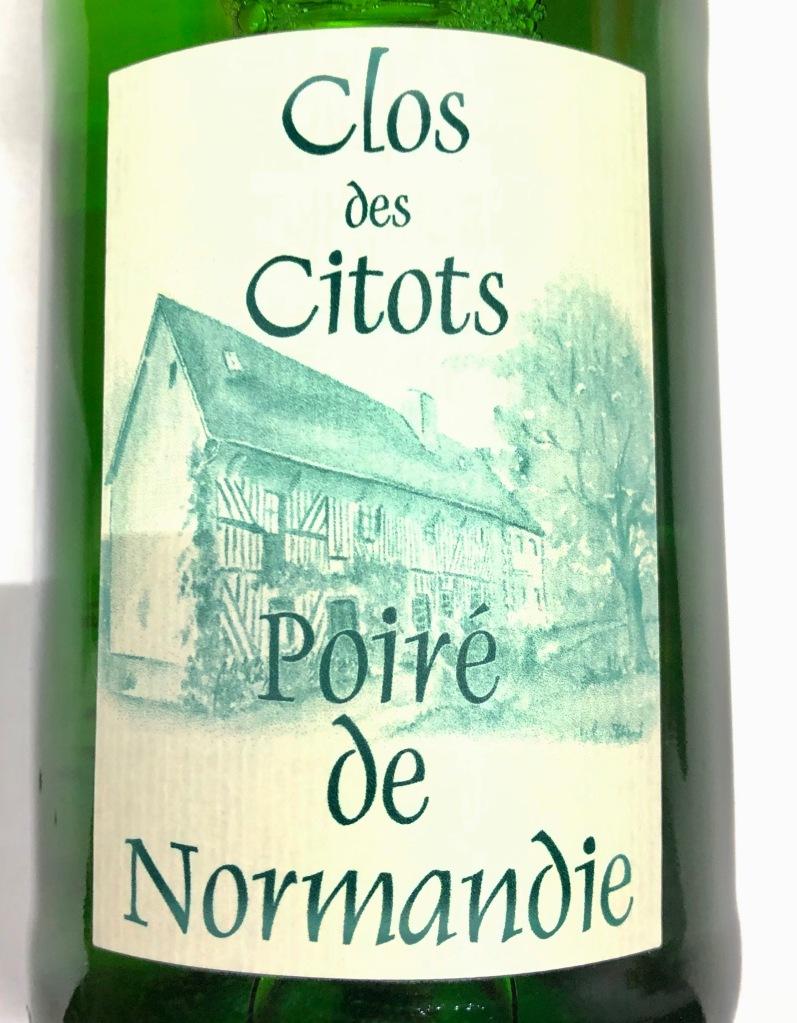 Poiré de Normandie Perry by Clos des Citots