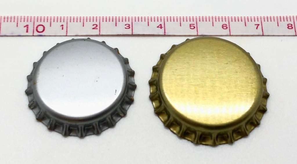 Crown Caps: 26mm & 29mm