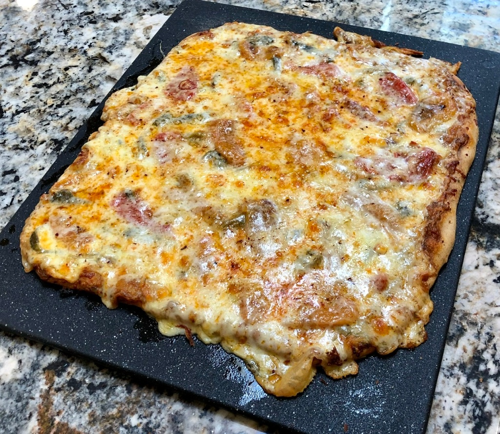 Pepper & Cheese Pizza
