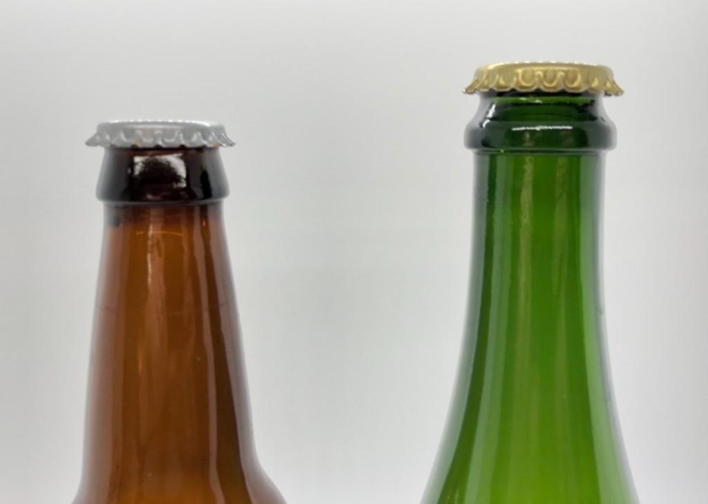 Crown Cap Bottles: Before Crimping