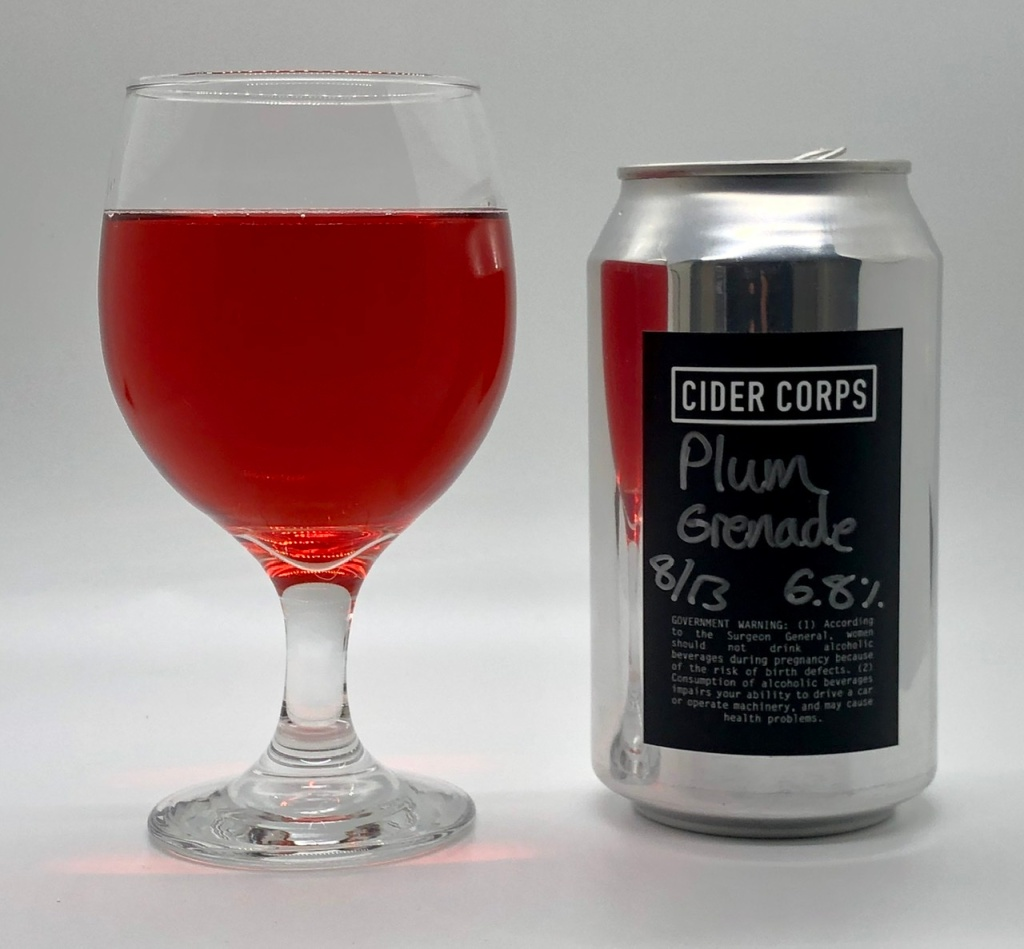Plum Grenade by Cider Corps