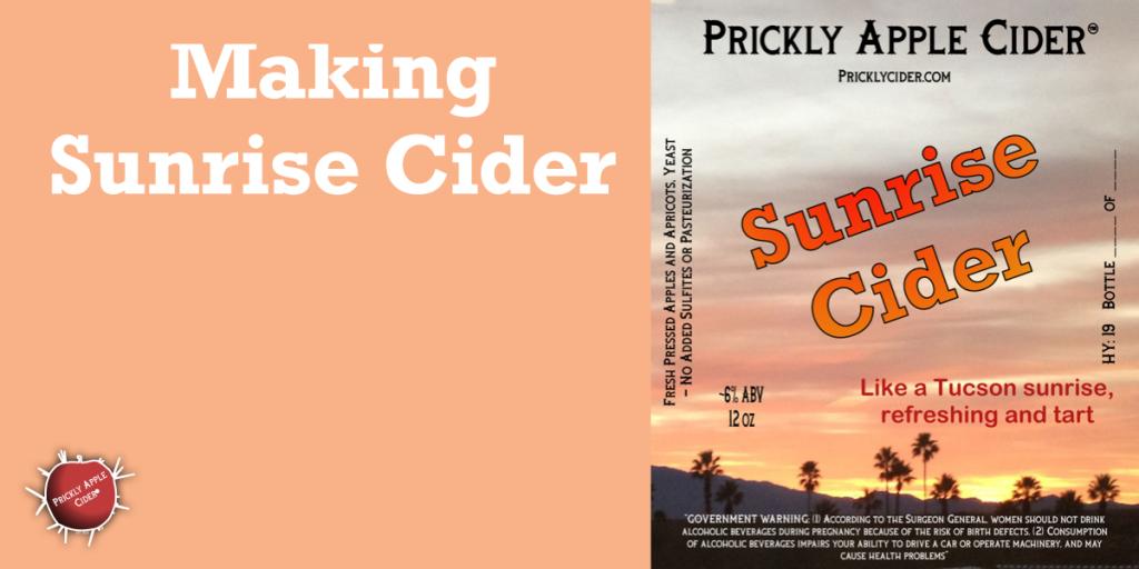 Making Sunrise Cider