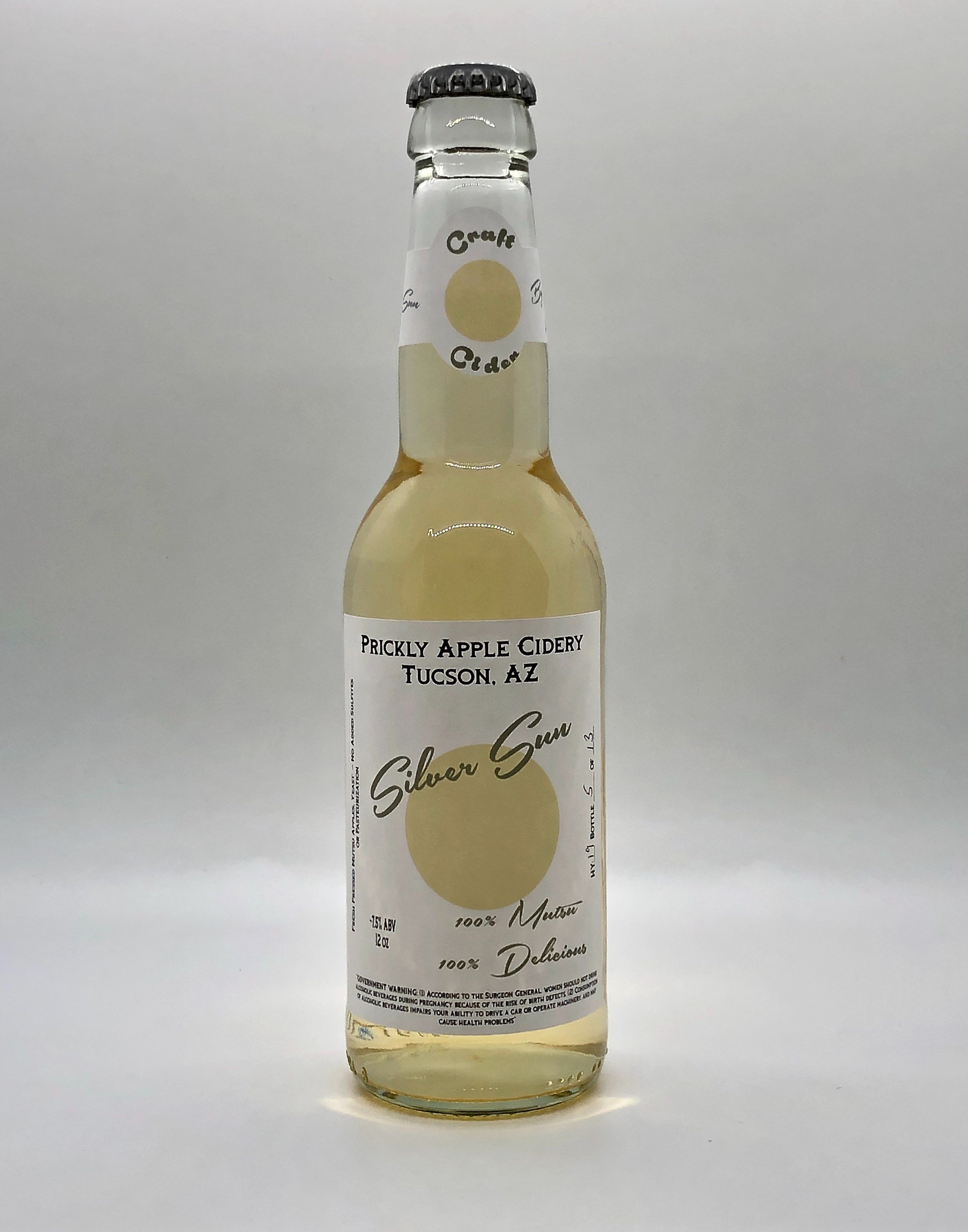 Silver Sun Cider Color
