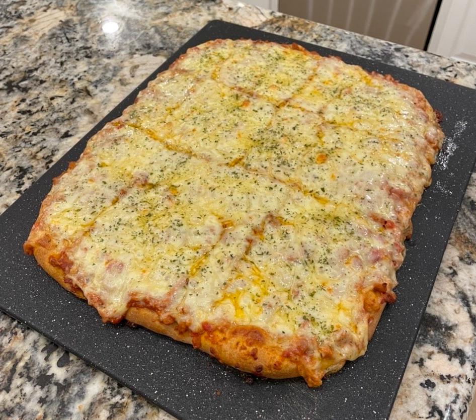 Sloppy Tony Pizza: Sloppy Joes on a Parmesan Crumpet Crust