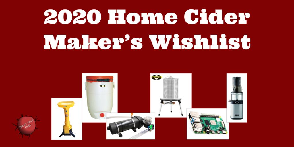 2020 Equipment Wishlist