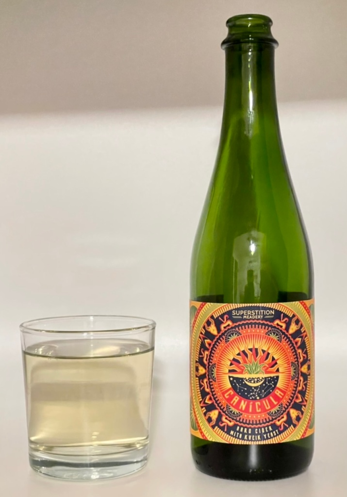 Canícula Cider By Superstition Meadery