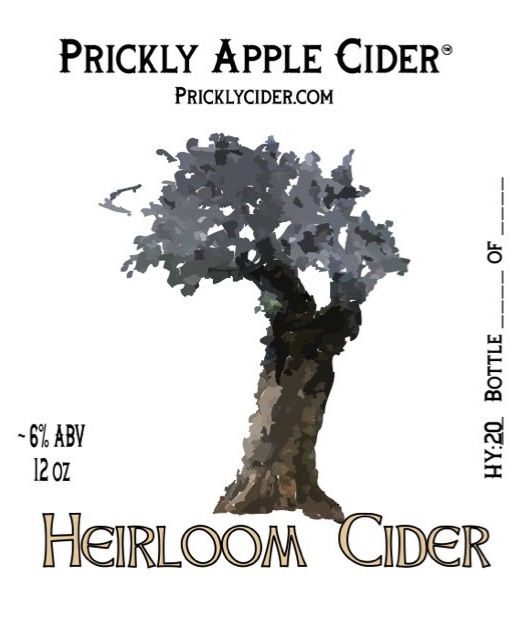 Heirloom Cider Label