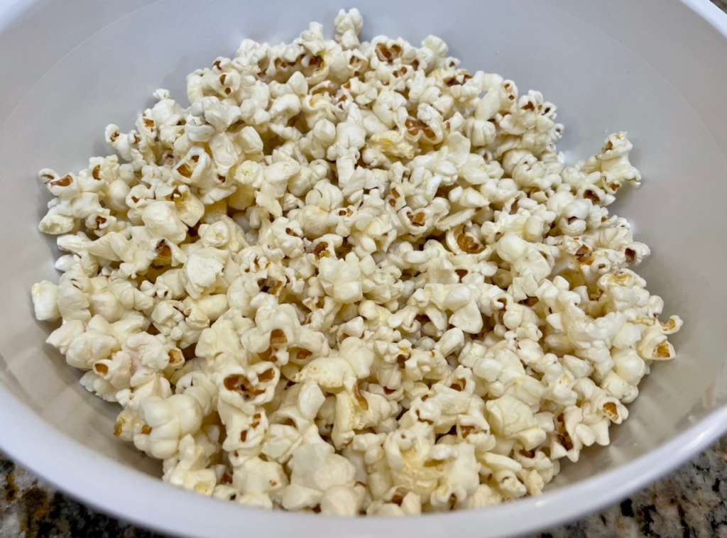 Truffle Pop: White Truffle Oil Popcorn