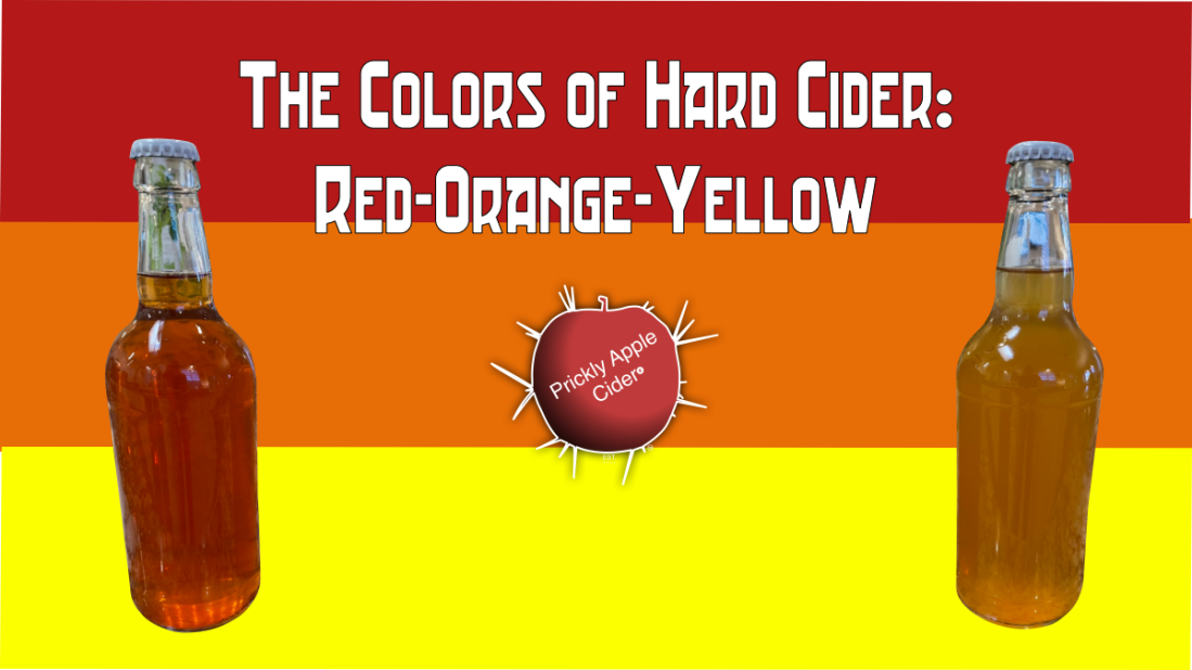 Exploring the color of hard cider.